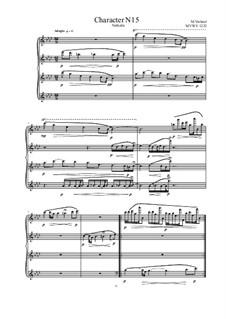 Musica sanitatem: No.15 for Piano, MVWV 1232 by Maurice Verheul