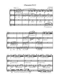 Musica sanitatem: No.12 for piano, MVWV 1246 by Maurice Verheul