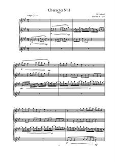 Musica sanitatem: No.11 for piano, MVWV 1229 by Maurice Verheul