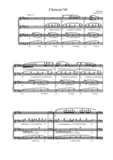 Musica sanitatem: No.8 for Piano, MVWV 1227 by Maurice Verheul