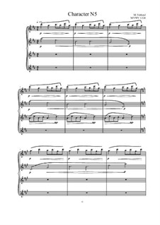 Musica sanitatem: No.5 for Piano, MVWV 1224 by Maurice Verheul