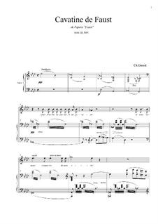 Faust: Cavatine de Faust by Charles Gounod