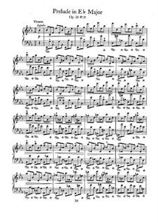Nr.19 in Es-Dur: Für Klavier by Frédéric Chopin