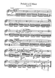 Nr.4 in e-Moll: Für Klavier by Frédéric Chopin