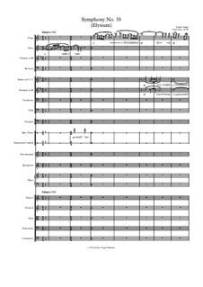 Symphony No.33 (Elysium): Symphony No.33 (Elysium) by Jordan Grigg