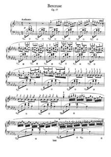 Wiegenlied in Des-Dur, Op.57: Für Klavier by Frédéric Chopin