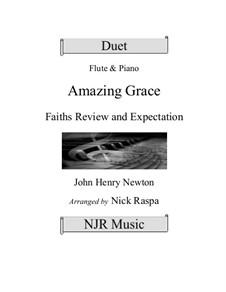 Erstaunliche Gnade: Für Flöte und Piano by folklore