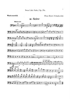 Version B: Cellostimmen by Pjotr Tschaikowski