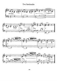 Brahms - Two Sarabandes