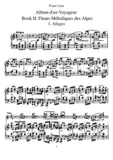 Tagebüch eines Wanderers, S.156: Buch II by Franz Liszt