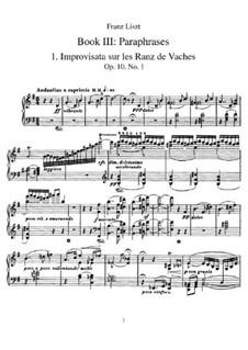 Tagebüch eines Wanderers, S.156: Buch III by Franz Liszt