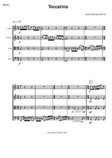 Toccatina: Für Streichquartett by Jason Sullivann