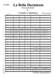 La Bella Durmiente (Score + Parts): La Bella Durmiente (Score + Parts) by María Mendoza