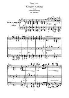 Nr.2 Kriegers Ahnung: Für Klavier, S.560 No.14 by Franz Schubert