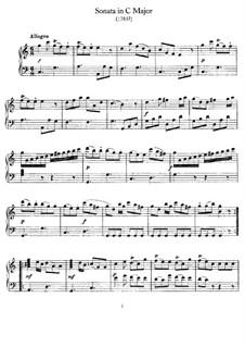 Sonate für Klavier in C-Dur, Hob.XVI/15: Für einen Interpreten by Joseph Haydn