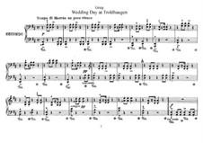 Lyrische Stücke, Op.65: No.6 Wedding Day at Troldhaugen by Edvard Grieg