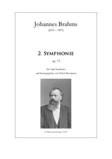 Vollständiger Satz: Version for organ by Johannes Brahms