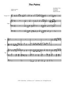 Palm Branches (The Palms): Duet for violin and viola by Jean-Baptiste Faure