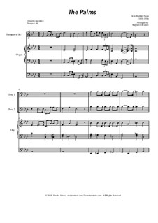 Palm Branches (The Palms): For brass quartet and organ - alternate version by Jean-Baptiste Faure