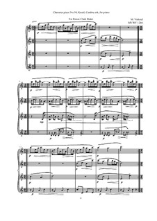 Musica sanitatem: No.30 Musica sanitatem, MVWV 1266 by Maurice Verheul