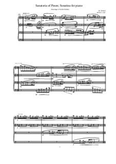 Sanatoria of Pinon. Sonatina for piano, MVWV 1267: Sanatoria of Pinon. Sonatina for piano by Maurice Verheul