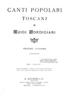 Canti popolari toscani: Canti popolari toscani by Luigi Gordigiani