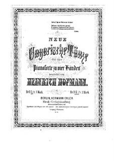 Neue ungarische Tänze für Klavier, vierhändig: Neue ungarische Tänze für Klavier, vierhändig by Heinrich Hofmann