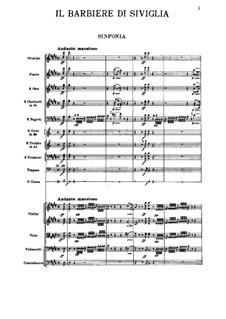 Vollständiger Oper: Vollpartitur by Gioacchino Rossini
