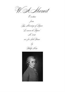 Ouvertüre: For advanced solo piano by Wolfgang Amadeus Mozart