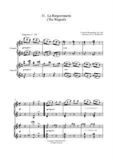 Nr.11 Die Schäferin: Für zwei Klaviere by Johann Friedrich Burgmüller