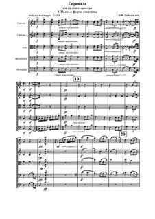 Serenade für Streichorchester, TH 48 Op.48: Teil I by Pjotr Tschaikowski