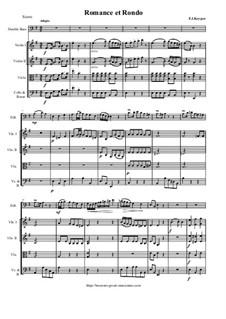 Romanze und Rondo für Kontrabass und Orchester: Score and parts by Franz Keyper