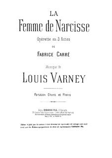 La Femme de Narcisse: La Femme de Narcisse by Louis Varney