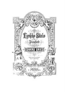 Lyrische Stücke, Op.12: Vollsammlung by Edvard Grieg