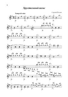 Crystal waltz: Crystal waltz by Sergej Kolgan