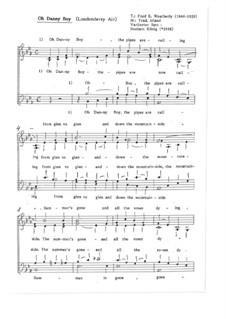 Londonderry Air / Die Zeit mit euch für gem. Chor: Londonderry Air / Die Zeit mit euch für gem. Chor, Op.2.3 by folklore