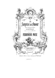 Surprise de l'Amoure: Surprise de l'Amoure by Ferdinand Poise