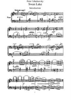 Fragmente: Acts I-II, for piano by Pjotr Tschaikowski