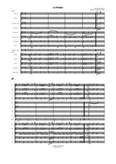 La Raspa: Für Orchester by folklore