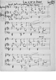 Hochzeitsmusik: Vollpartitur by Ernst Levy