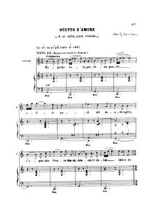 Die Königin von Saba, Op.27: Duetto d'amore (Magiche note, A me alfin, alfin ritorni..) by Karl Goldmark