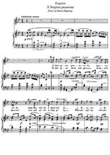 Die Magd als Herrin: A Serpina penserete by Giovanni Battista Pergolesi