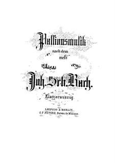 Johannes-Passion, BWV 245: Klavierauszug mit Singstimmen by Johann Sebastian Bach