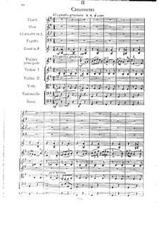 Konzertsuite für Violine und Orchester, Op.25: Teil II by César Cui