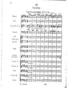 Konzertsuite für Violine und Orchester, Op.25: Teil III by César Cui