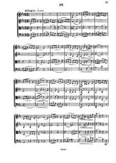 Streichquartett Nr.3 in Es-Dur, Op.91: Teil IV by César Cui