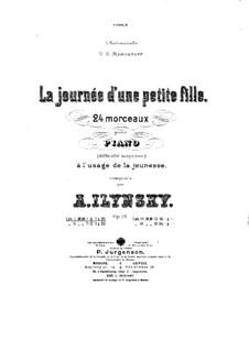 La journée d'une petite fille, Op.19: Nr.1-6 by Alexander Iljinski