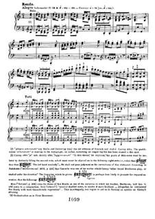 Konzert for Klavier und Orchester Nr.1, Op.15: Teil III, für zwei Klaviere, vierhändig by Ludwig van Beethoven