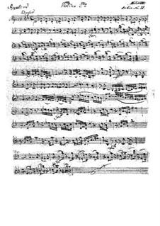 Vollständiger Teile: Violinstimme II by Wolfgang Amadeus Mozart