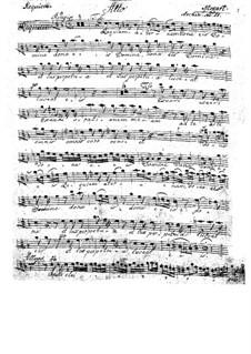 Vollständiger Teile: Altstimme by Wolfgang Amadeus Mozart